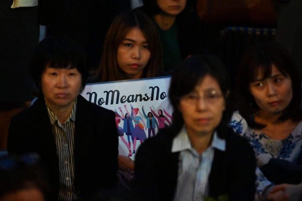 Verkryging van 'n man wat die dogter seksueel aangerand het, her protesteer in Japan