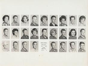 Photo: Encinal School 8th Grade Mrs Beltz 1962