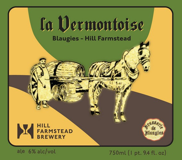 Logo of De Blaugies La Vermontoise 2014 Hill Farmstead Collab