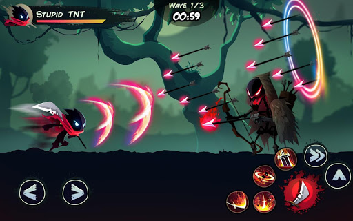 Shadow Stickman: Fight for Justice screenshot 2