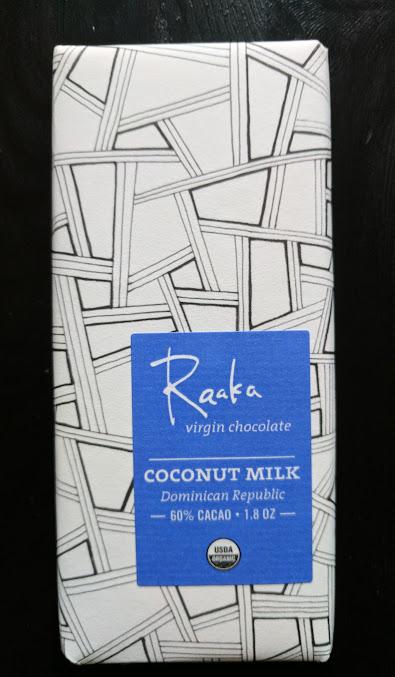 60% coconut raaka bar