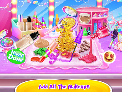 Make-up Slime - Girls Trendy Glitter Slime  screenshots 8