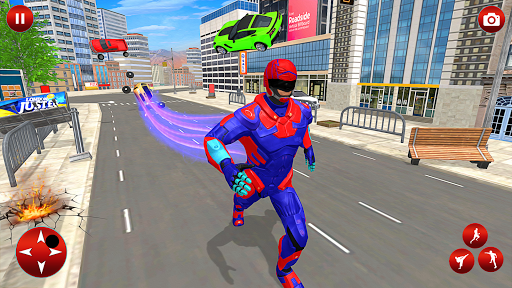 Superhero Robot Speed Hero apkpoly screenshots 2