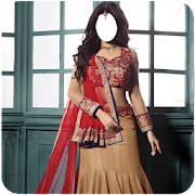 Woman Lahenga Photo Suit