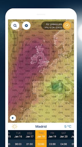 Ventusky: Weather Maps screenshot 7