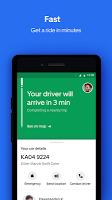 screenshot of Uber Lite