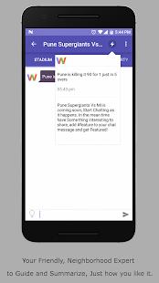 WazzOn TV Companion App - náhled