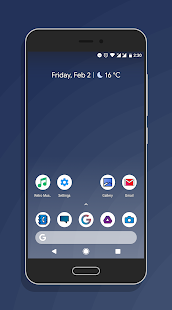 Icon of Fame -  Simple yet good Iconpack Screenshot