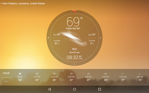 Weather Live with Widgets Free - screenshot thumbnail