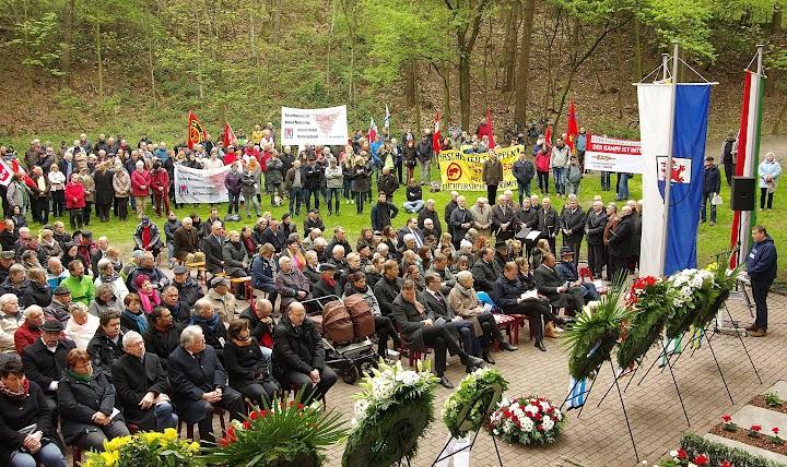 Gedenken am Wenzelnberg 23.04.2017, Übersicht.