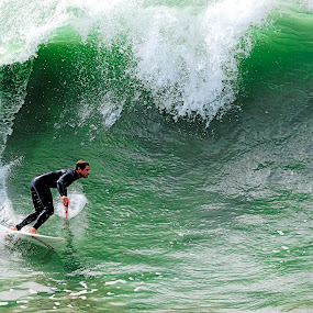 'THIS FEELING INSIDE' by Steve Albano - Sports & Fitness Surfing ( nikon af-s nikkor 200-500mm f/5.6e ed vr, nikon d3, huntington beach,  )