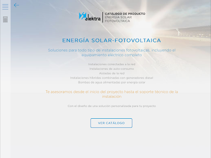 Catálogo Solar- screenshot thumbnail