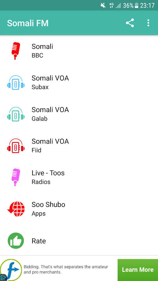 Somali FM Radio- screenshot