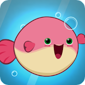 •Flappy Fish: Kawaii Haustier Unterwasser!• icon