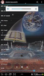 Abdallah Matroud Quran Offline - náhled