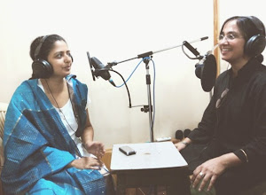 Photo: Ritika and Dr. Asmita Huddar jointly hosting the first episode of MMKND.