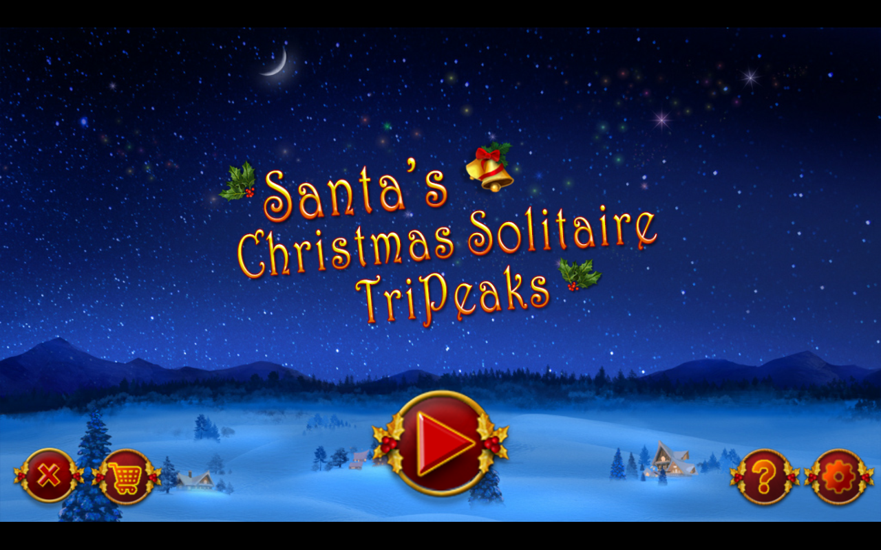 Santa's Christmas Solitaire TP- screenshot