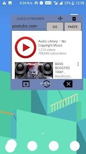 Audio Streamer - náhled