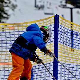 by Victoria Eversole - Sports & Fitness Snow Sports ( squaw valley, children skiing, snow sports, california adventures )
