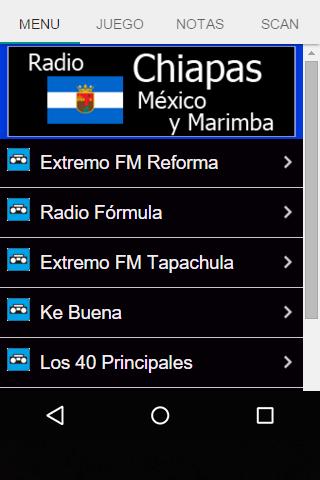 Radio Chiapas México y Marimba