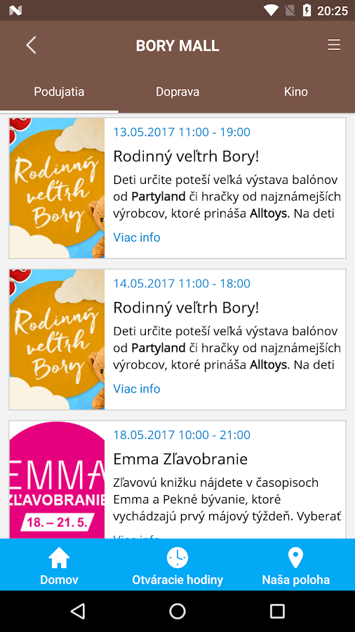 Bory Mall- screenshot