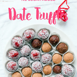 Date Truffles Vegan Recipes