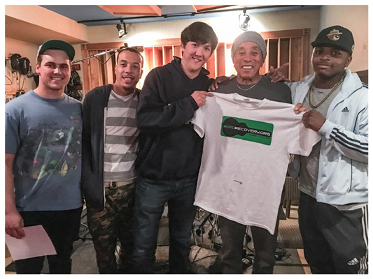 Threshold Recording Studios NYC Smokey Robinson