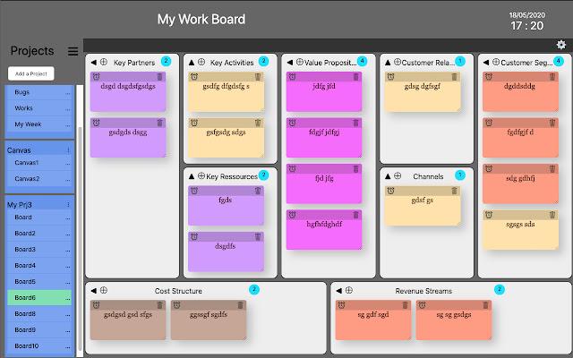 My work Board