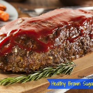 Healthy Brown Sugar Meatloaf