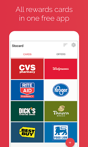 Stocard - Rewards Cards Wallet Android App Screenshot