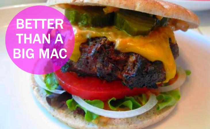 BETTER THAN A BIG MAC (9 WW points+ each) Recipe | Yummly