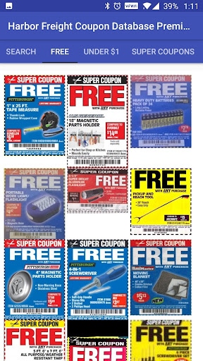 Download Harbor Freight Coupon Database Premium Ad Free Apk For Android Latest Version