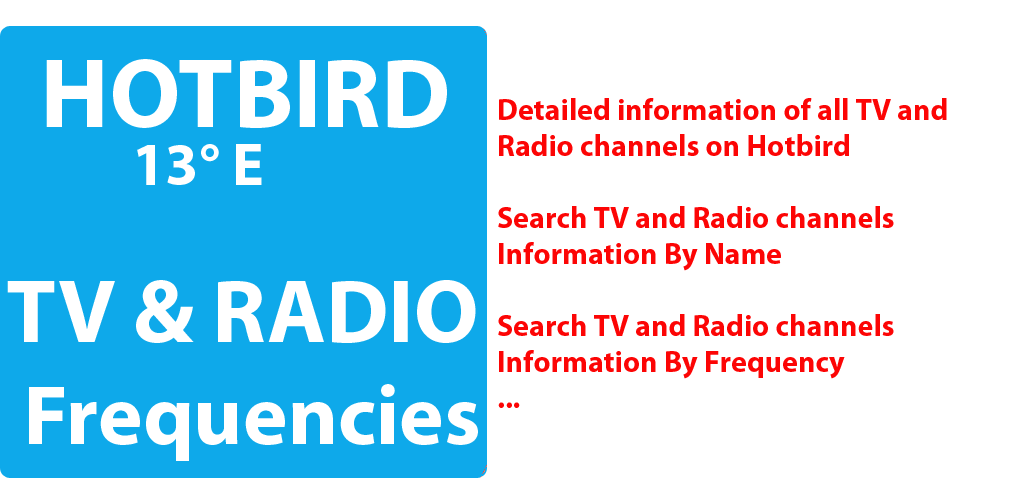 Download TV and Radio Frequencies on HotBird Satellite APK