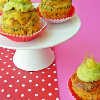 Cupcakes With Bacon, Pineapple And Chives