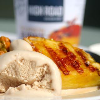Grilled Pineapple with Vanilla Bourbon Ice Cream
