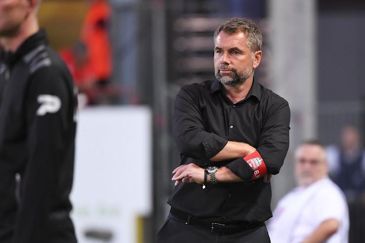 """Mouscron cale : """"Je crois que l'absence du coach joue, oui"""""""