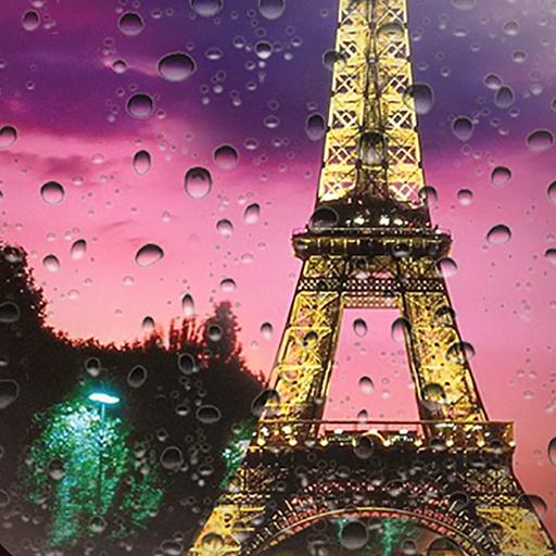 مطر باريس خلفية متحركة التطبيقات على Google Play
