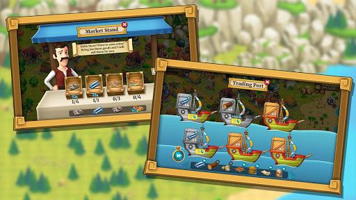 Town Village: ferme, commerce, farm, build, city  captures d'écran 3