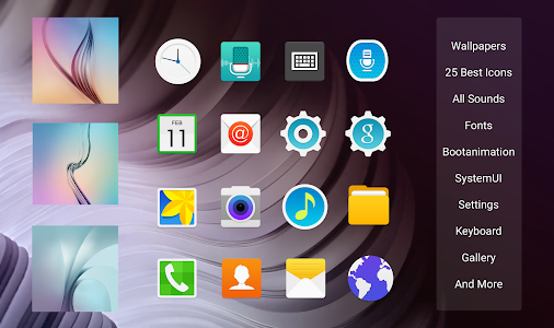 Touchwiz S6 CM12/12.1 v2.0