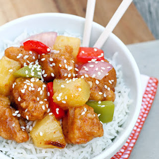 Quick Sweet & Sour Chicken
