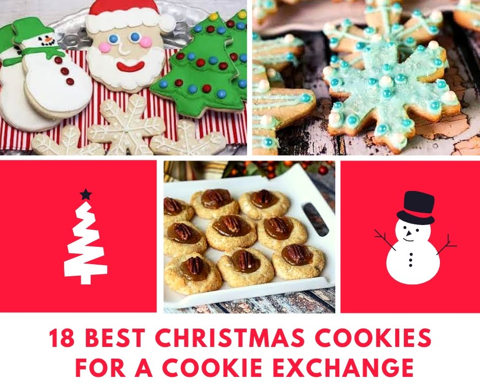 18 Best Christmas Cookies For A Cookie Exchange Just A Pinch