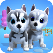 Talking Husky Dog Android APK Download Free By Talking Baby