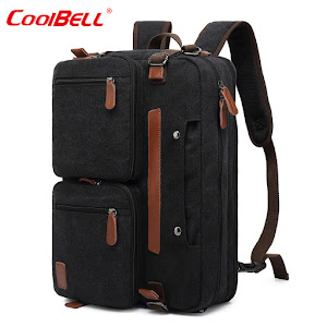Geanta multifunctionala laptop CoolBELL, 15.6 inch