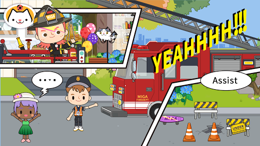 Miga Town: My Fire Station 1.2 screenshots 12