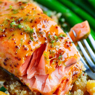 Apricot Glazed Salmon Recipes.