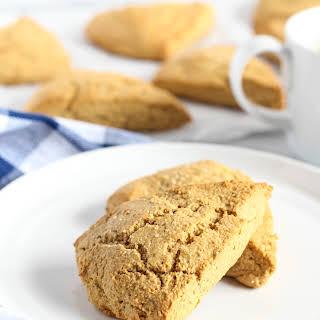Gluten Free Ginger Almond Scones.