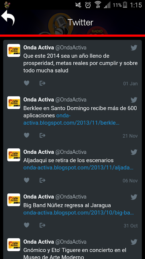 Radio Onda Activa- screenshot