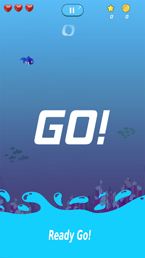 Fishy Run: Underwater Survival – Dash & Dodge  captures d'écran 1