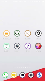 Onyx Pixel - Icon Pack Screenshot