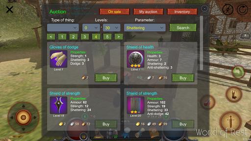 World Of Rest: Online RPG 1.34.2 screenshots 16